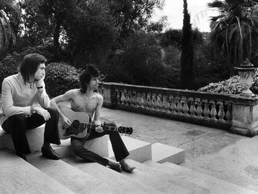 Charlie & Keef in France, 1972