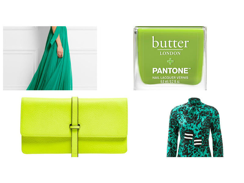 Pantone Color Of The Year 2017 Greenery Fashion Lookbook