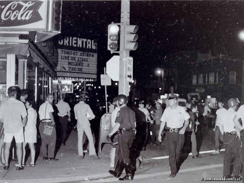 the east side erupted in violence 45 years ago onmilwaukee