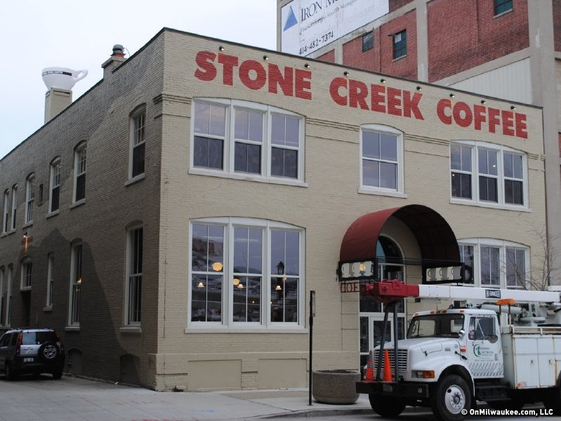 Stone Creek's new location is great.