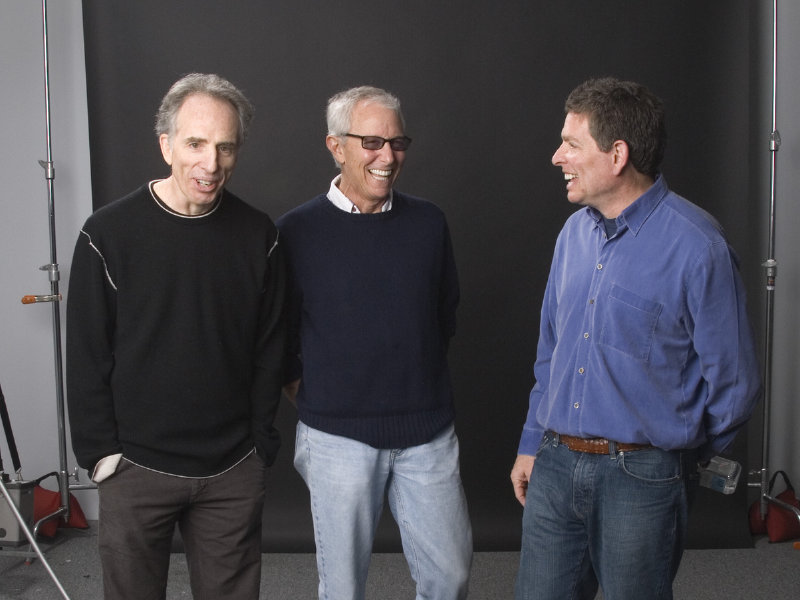 The ZAZ crew - (from left to right) Jerry Zucker, Jim Abrahams and David Zucker - is one of several film voices receiving a tribute from the 2014 Milwaukee Fil