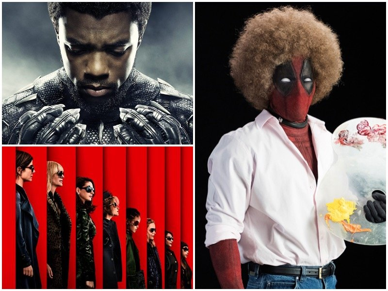 From superheroes to fashion swindlers and everything in between, here's  what to watch in 2018.