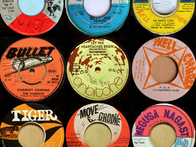 Jamaican 45s always have cool labels, dub flipsides and thundering bass.