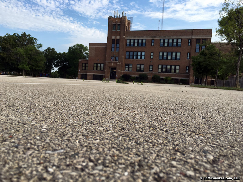 DPW works to green five MPS schoolyards this summer