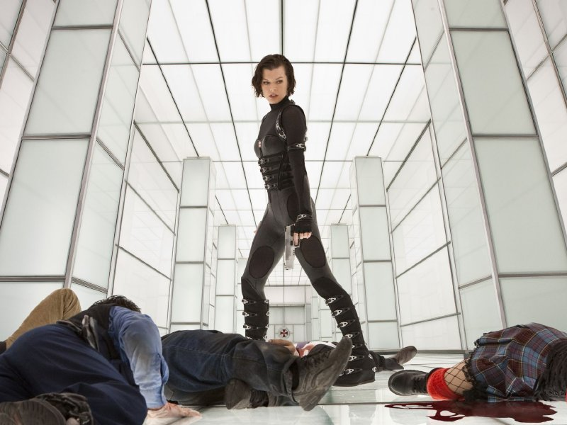 "Milla Jovovich continues her fight against the undead in ""Resident Evil: Retribution"" this Friday."