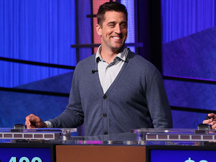 Aaron Rodgers isn't the only genius to play in Wisconsin. (PHOTO: Jeopardy Productions, Inc.)