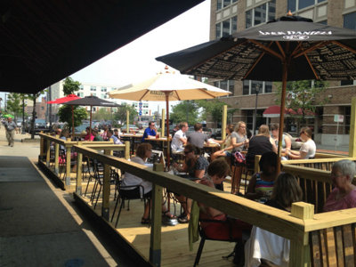 New outdoor dining spots Image