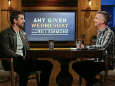 Aaron Rodgers opened up about some stuff on Bill Simmons' HBO show last night