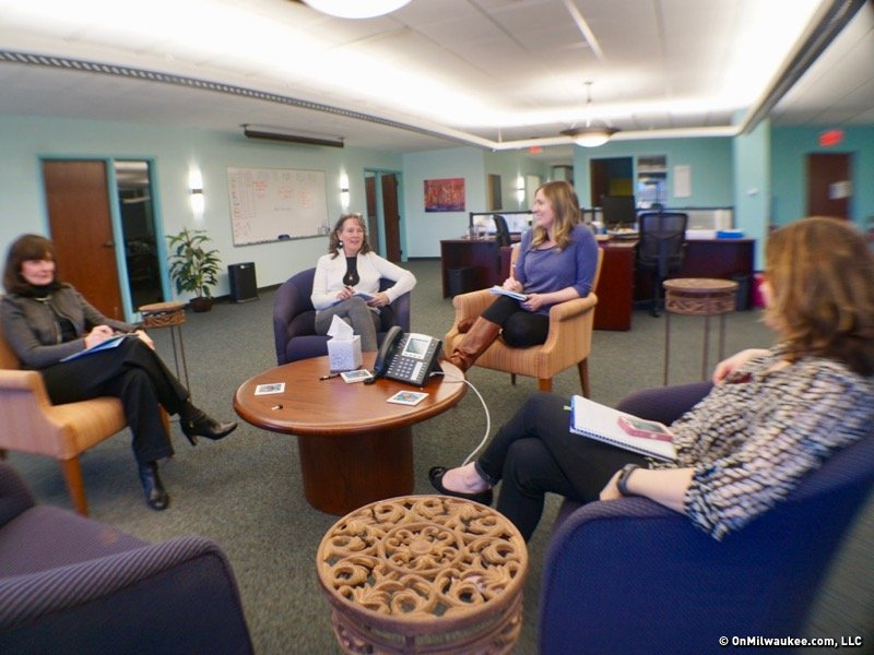 abcd provides one on one support to breast cancer patients, 19 yearswith its small staff of six, including three match specialists in glendale, abcd is all about making connections