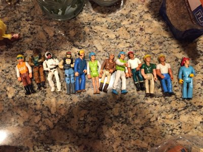 Growing up in the golden age of action figures