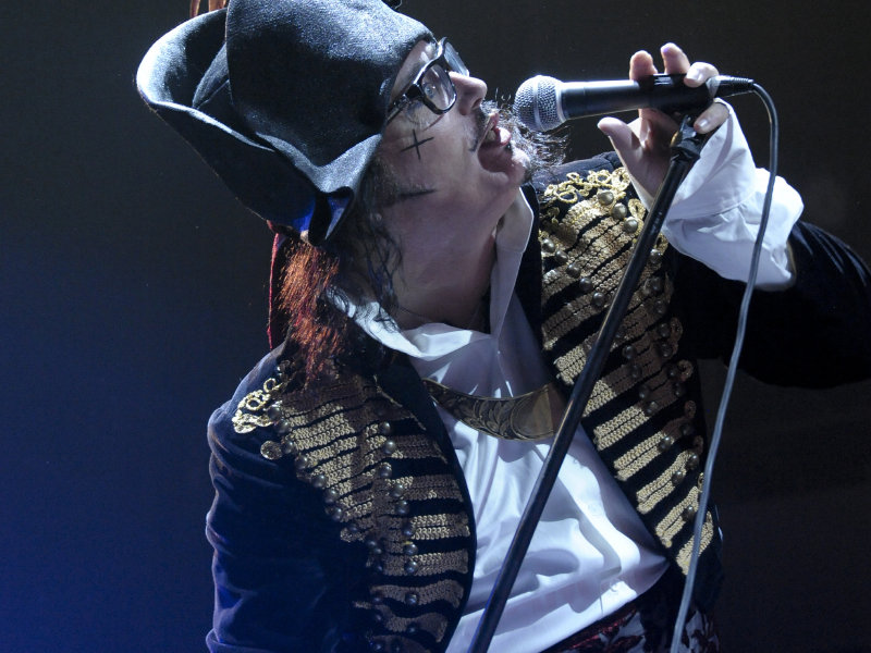 Adam Ant performed at Turner Hall Ballroom Sunday night.