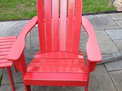 What's the appeal of Adirondack chairs?