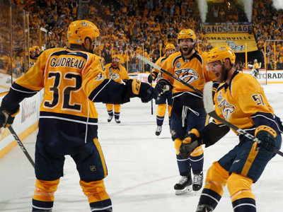 Predators in Stanley Cup Image