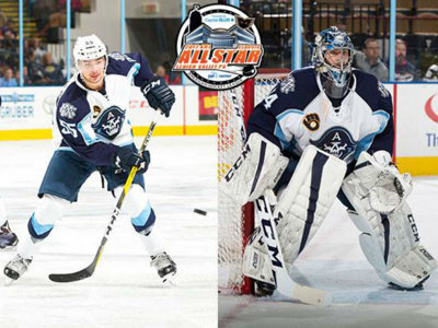 Admirals' Juuse Saros, Alexandre Carrier selected for AHL All-Star Classic