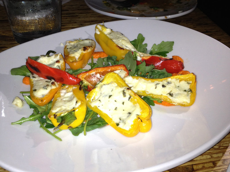 The stuffed peppers at The Odd Duck.