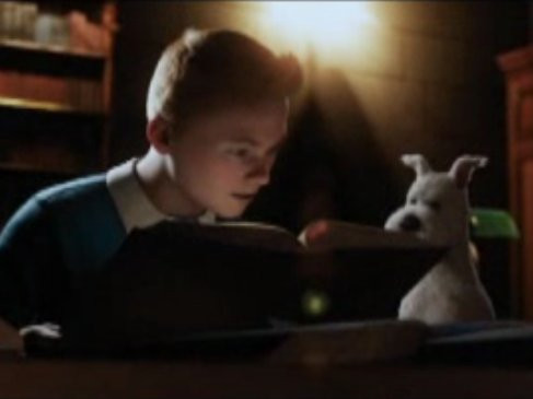 """The Adventures of Tintin"" opens in theaters today."