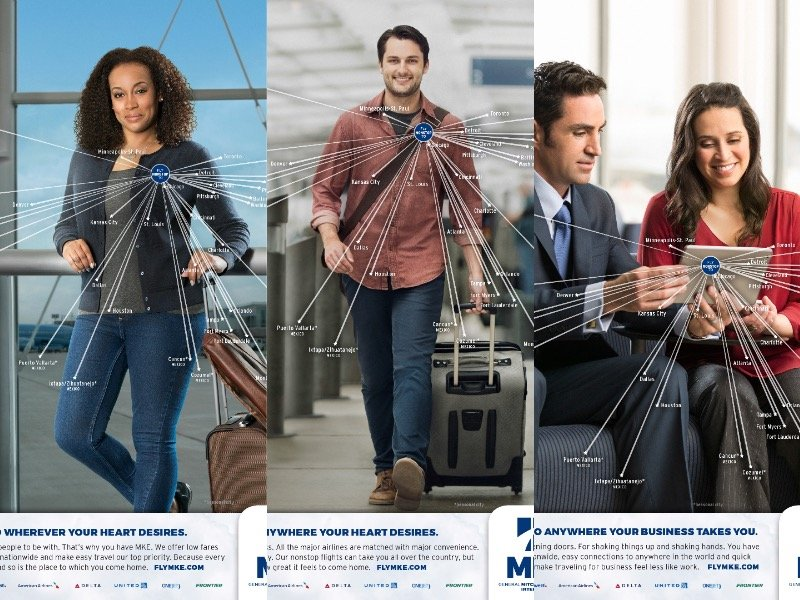 Mitchell Airport unveils new 'Wherever Your Heart Desires' rebranding campaign