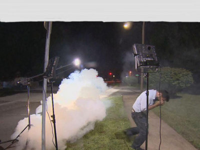 Reporters tear gassed Image