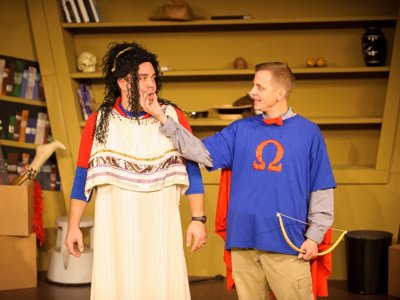 'All the Great Books (Abridged)' litters In Tandem stage with laughs, literature Image
