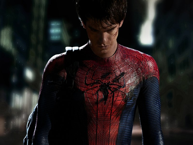 Andrew Garfield is the latest actor to don the spandex Spidey suit.