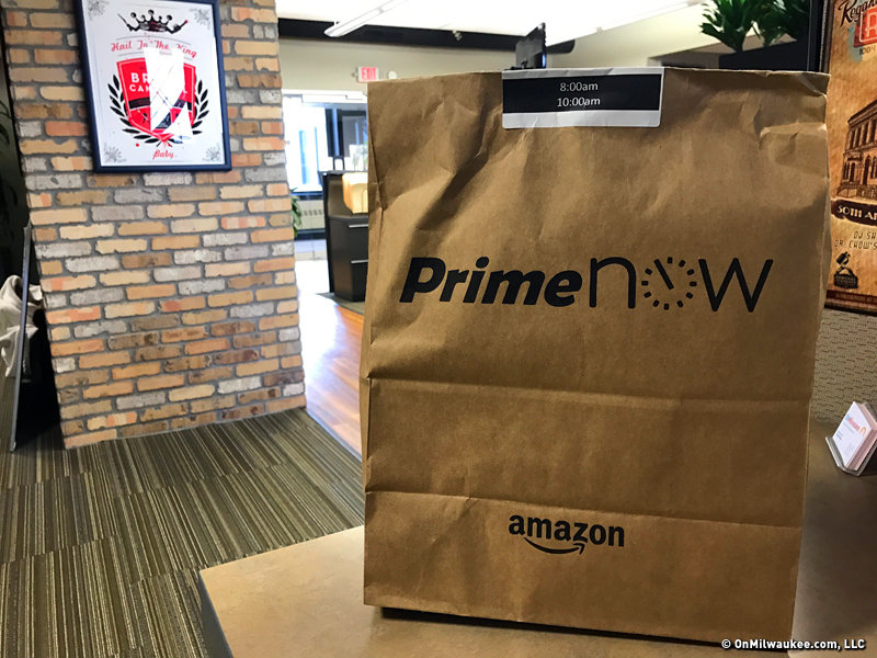Amazon brings one-hour delivery to Milwaukee