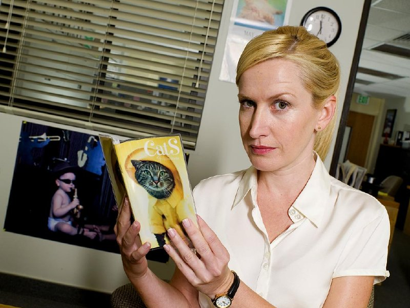 "Angela Kinsey is Angela on ""The Office."""