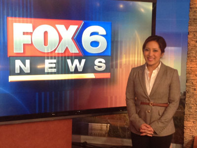 Angelica Duria on Fox 6