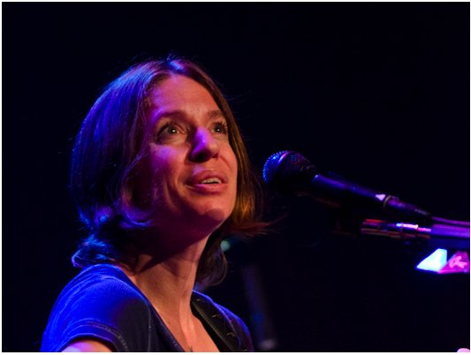 The always expressive Ani Difranco.