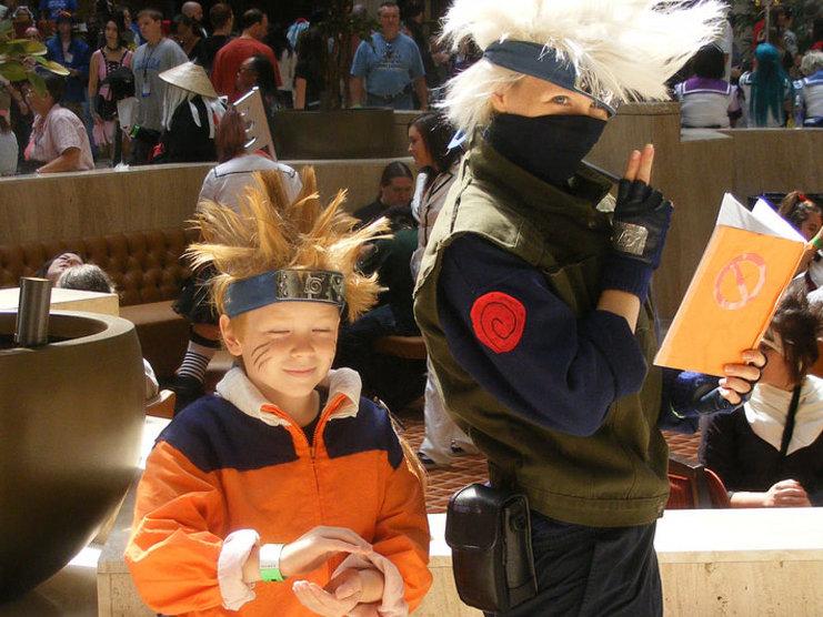 Mother And Son Naruto Uzumaki Kakashi Hatake From Photo By Michael Mol