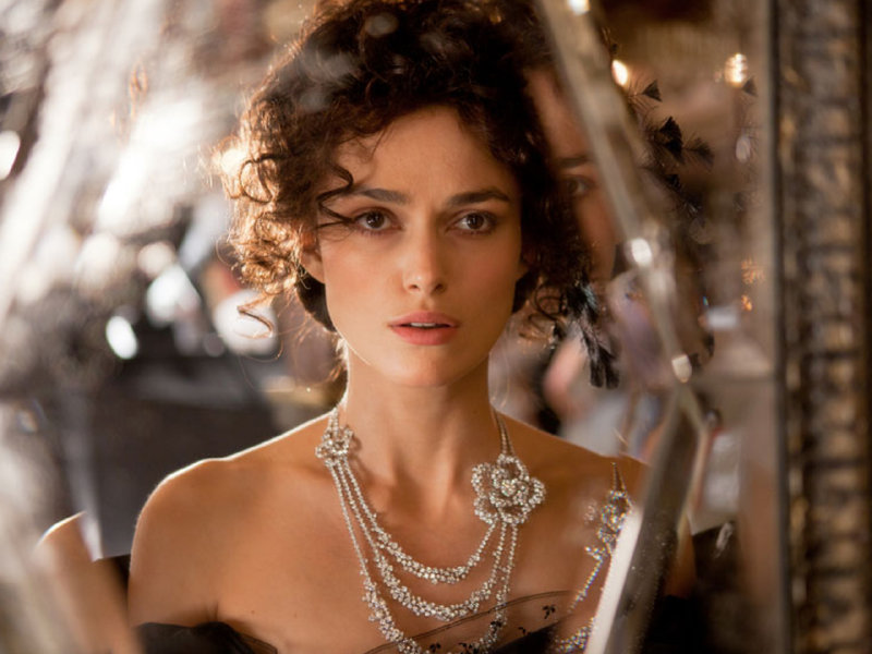 "Keira Knighley stars in ""Anna Karenina,"" in theaters now."