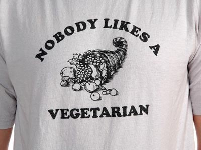 I happen to know some very popular vegetarians.