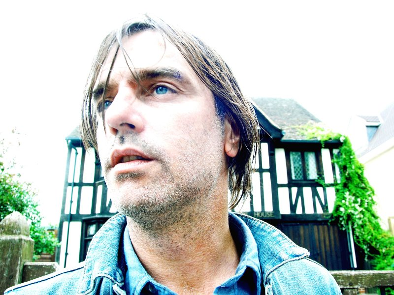 Anton Newcombe, the lead singer of The Brian Jonestown Massacre.