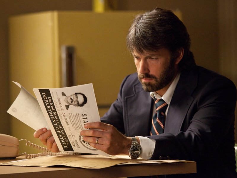 "Ben Affleck stars in and directs ""Argo,"" in theaters now."