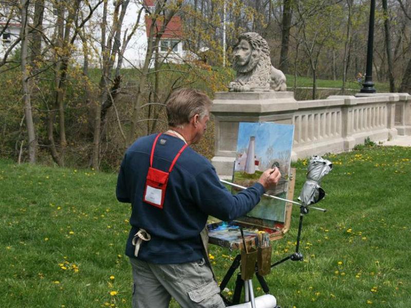 Plein Art Painting