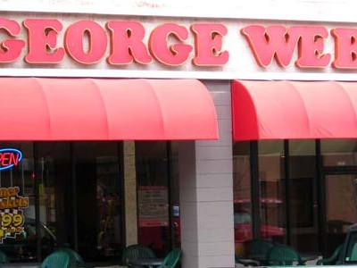 Ask OMC: Why are there two clocks at every George Webb's? Image