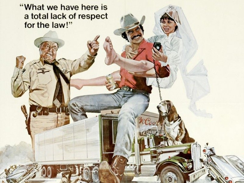 Pay Tribute To Burt Reynolds With Smokey The Bandit At The