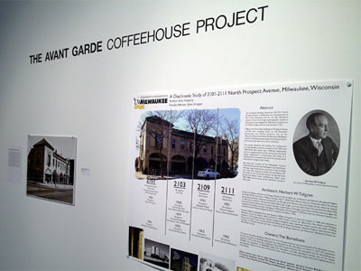 Another look at the Avant Garde Coffee House show