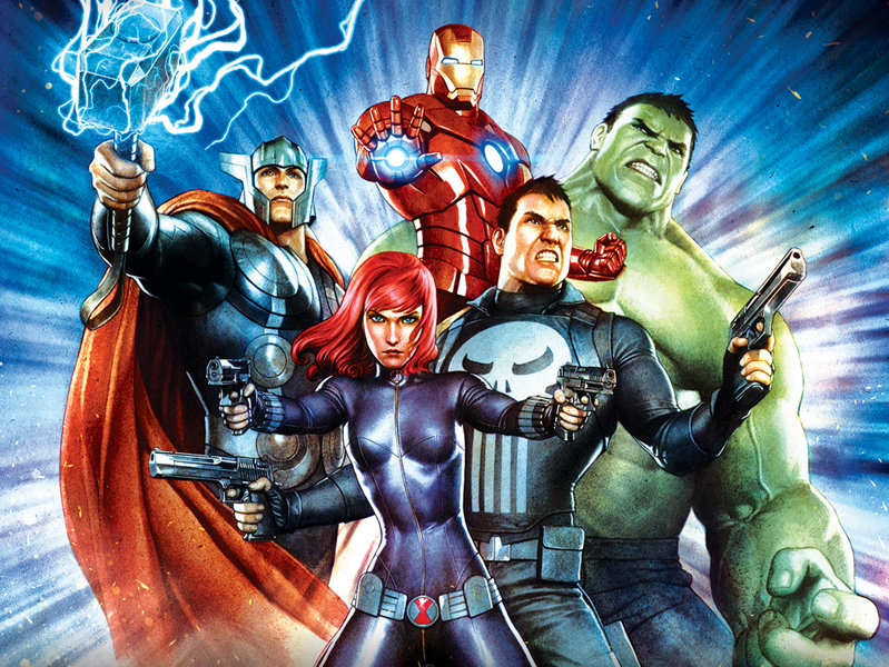 onmilwaukee com movies  u0026 tv  marvel comic characters take title roles in new anime feature