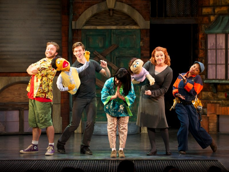 Avenue Q Christmas Eve.Sass Heart Make Avenue Q A Winner Onmilwaukee