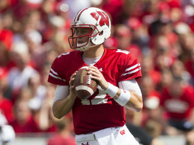 Record-setting QB Alex Hornibrook was nearly perfect in Badgers' rout of BYU