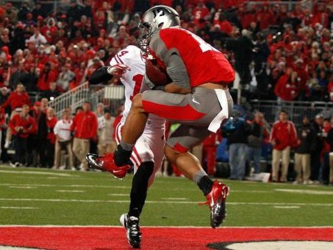 Lightning struck twice on the Wisconsin football team last Saturday when Ohio State's Devin Smith caught the game winning touchdown pass.