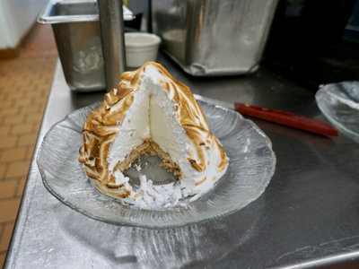 Old-school Baked Alaska finds new life at The Packing House Image