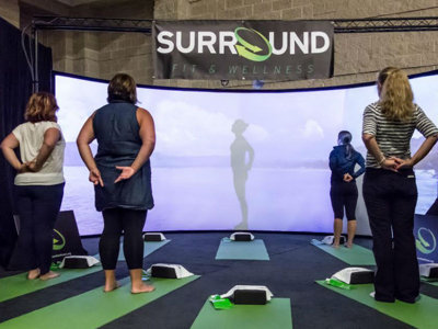 Balance Fitness, Surround Fit & Wellness introduce immersive exercise experience