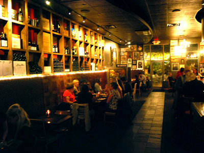 Dining is a fine complement to wining at Balzac
