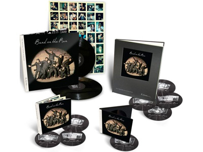 "The new ""Band on the Run"" reissue is available in various packages."