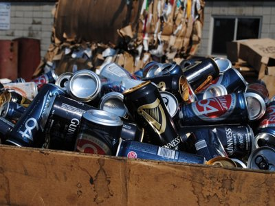 Recycling cans: worth it? Image