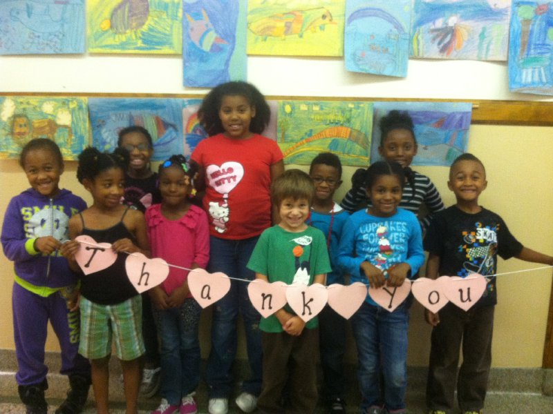 Thanks to a recent fundraiser, Lloyd Barbee Montessori students have more creative opportunities.