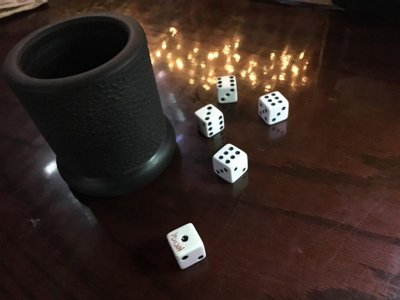 Bar dice banned