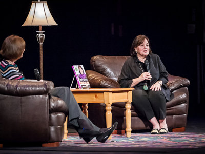 Barefoot Contessa Ina Garten enchants The Riverside