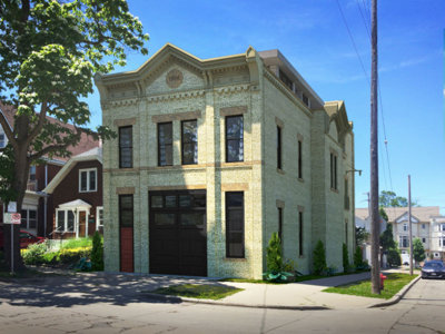 Classic old East Side firehouse is getting a makeover & we'll trace its progress Image